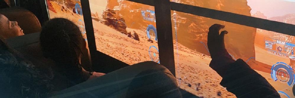 L'expérience du futur :  The Mars Experience Bus