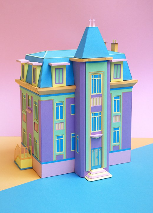 Top 10 paper art -Zim and Zou - newman- makeitnow.fr