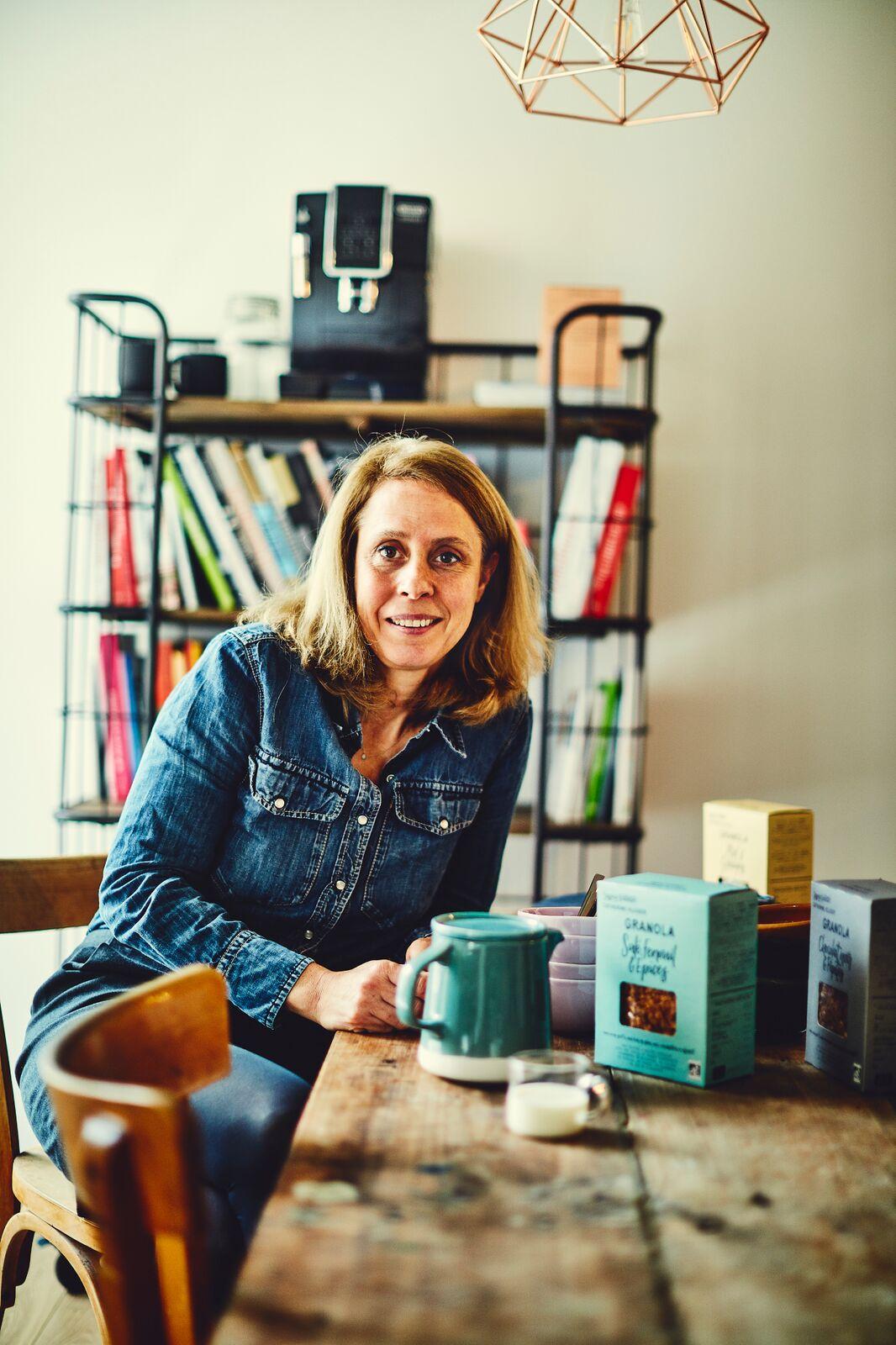 J'ai rencontré Catherine Kluger, l'ex avocate devenue reine de la tarte et du granola