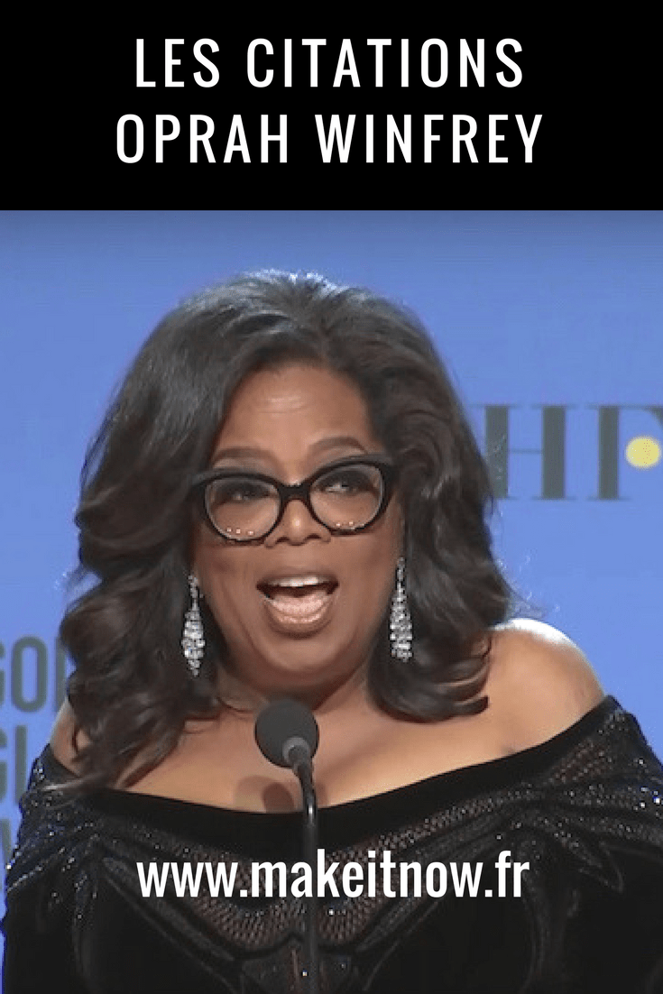 citations Oprah Winfrey