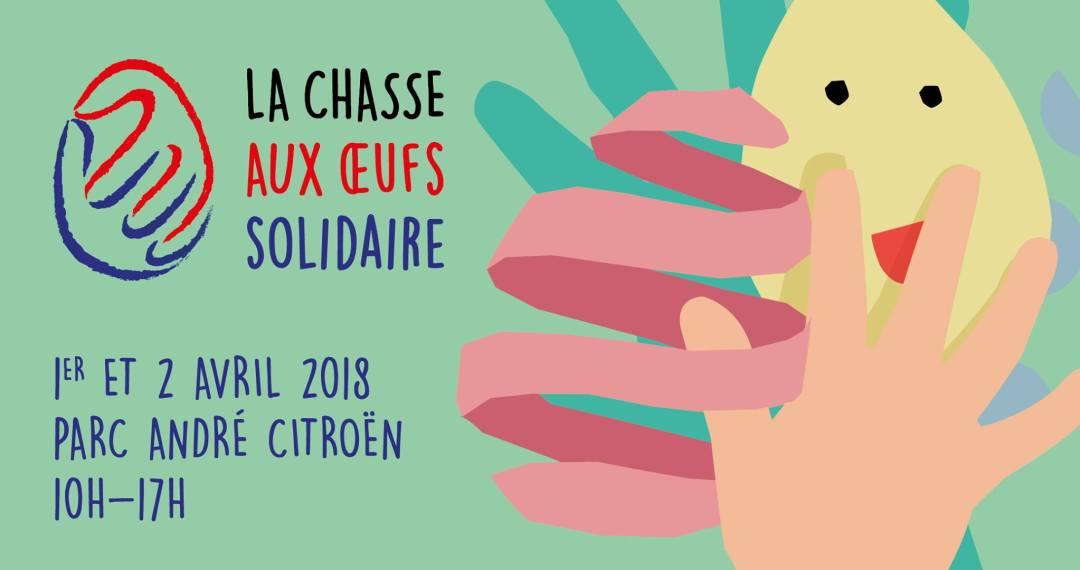 CHASSE AUX ŒUFS SOLIDAIRE SECOURS POPULAIRE -PARC ANDRÉ CITROËN PARIS