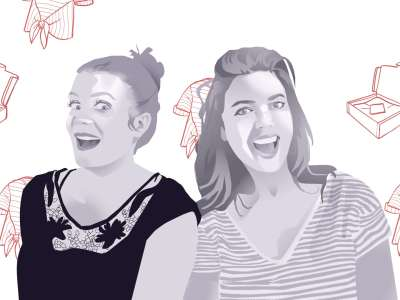 Maud et Amélie fondatrices de Modames