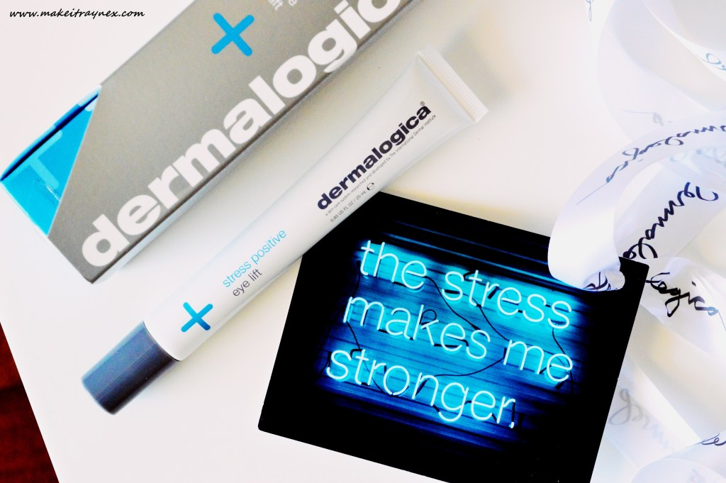 stress positive eye lift
