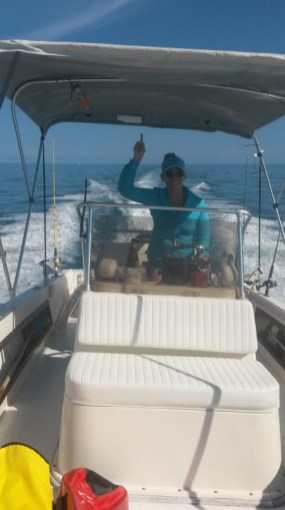 Make It So Key West Boat Charters - DV #1 hand sign