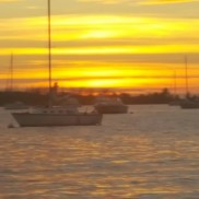 Make It So Key West Boat Charters - Sunset Pic with sailboat
