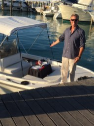Make It So Key West Boat Charters - Todd presenting sunset Trip