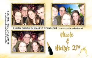 nicole and mollys 21st