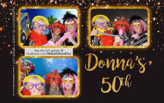 Donnas 50th birthday sample image