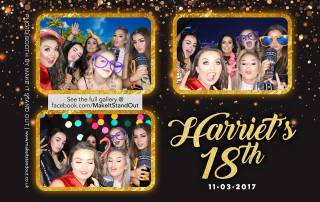 harriets-18th