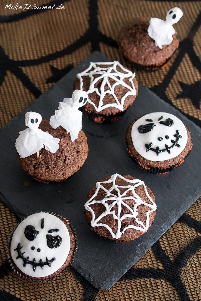 Einfach HalloweenMuffins dekorieren  MakeItSweetde