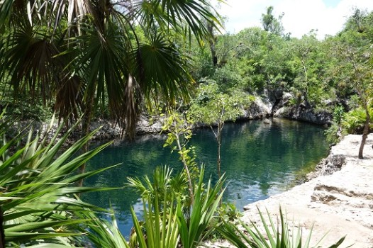 Swimming Hole near Bay of Pigs, Cuba