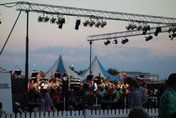 Darwin Symphony Orchestra at the Darwin Waterfront