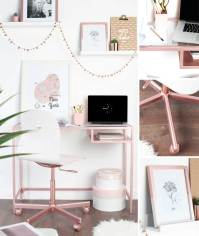 how to style your home the rose gold way - Rustoleum Spray ...
