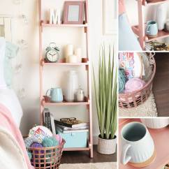 Ikea Pink Desk Chair Cobalt Blue Covers How To Style Your Home The Rose Gold Way - Rustoleum Spray Paint