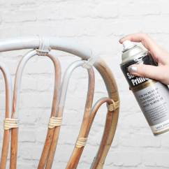 White And Gold Chair Rental Richmond Va How To Create A Metallic Rustoleum Spray Paint Primed