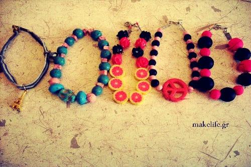 bracelets - Δημιουργήστε χειροποίητα κοσμήματα. Οδηγός για αρχάριους