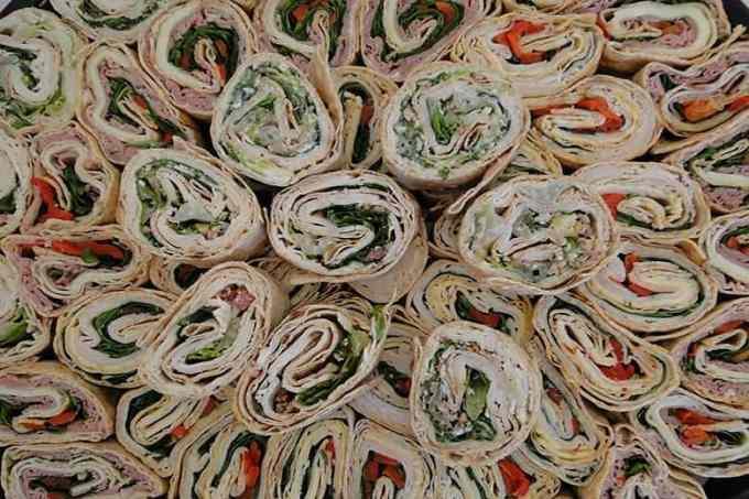 wraps tortillas - Ετοιμάστε τον τέλειο μπουφέ. 9 λιχουδιές για παιδικό πάρτυ