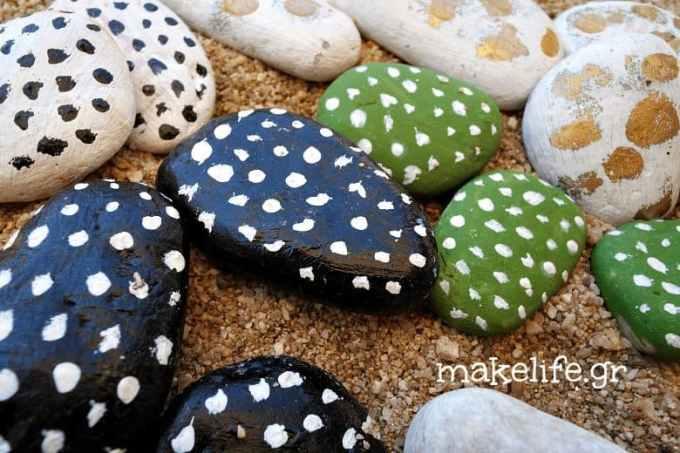 .jpg - Παιχνιδιάρικη ζωγραφική σε πέτρες και βότσαλα