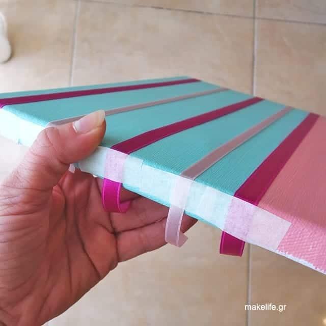 craft organizing - DIY για να οργανώσετε τα αξεσουάρ μαλλιών της κόρης σας