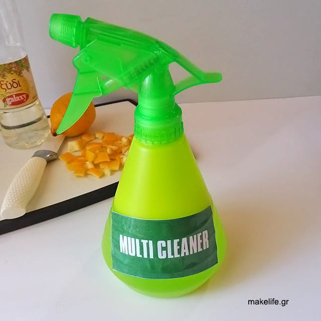 Οικολογικά Καθαριστικά με βάση το Ξύδι