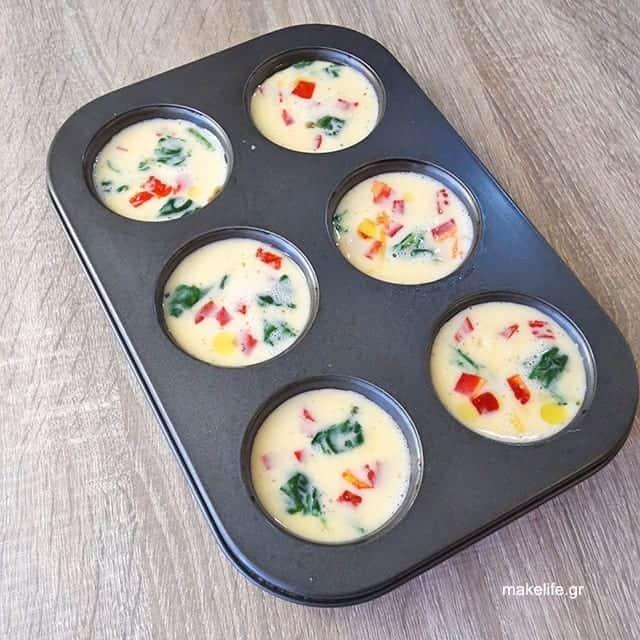 Συνταγή με αυγά στο Φούρνο