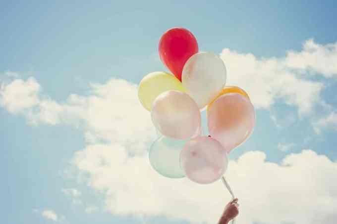 Μπαλόνια Ουρανός Καλοκαίρι