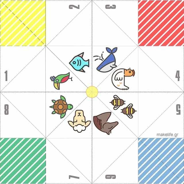 Αλατιέρα Παιχνίδι για Παιδιά με Ζώα