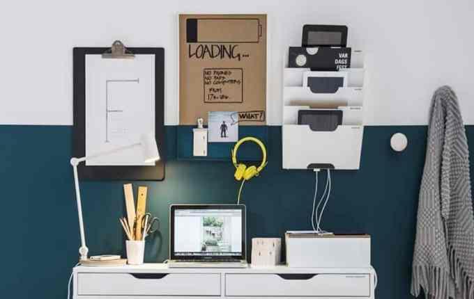 Οργάνωση Γραφείου με δύο Προϊόντα ΙΚΕΑ