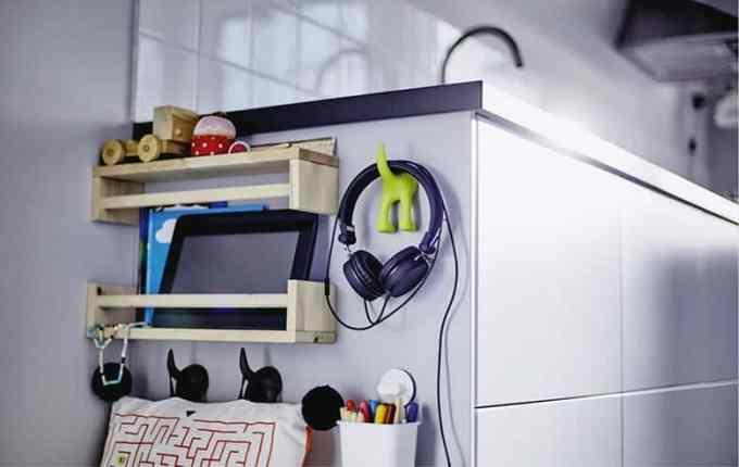 Ιδέα για τους ανεκμετάλλευτους χώρους στην κουζίνα
