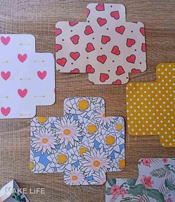 Envelopes DIY - Φτιάξε μόνος σου χάρτινα φακελάκια. 6 πατρόν για εκτύπωση