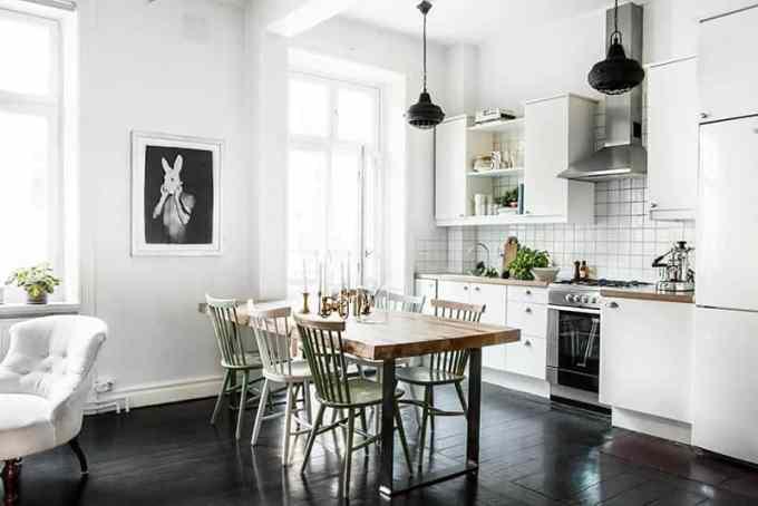 dining room decoration - Απλές διακοσμητικές προτάσεις και ιδέες για την τραπεζαρία