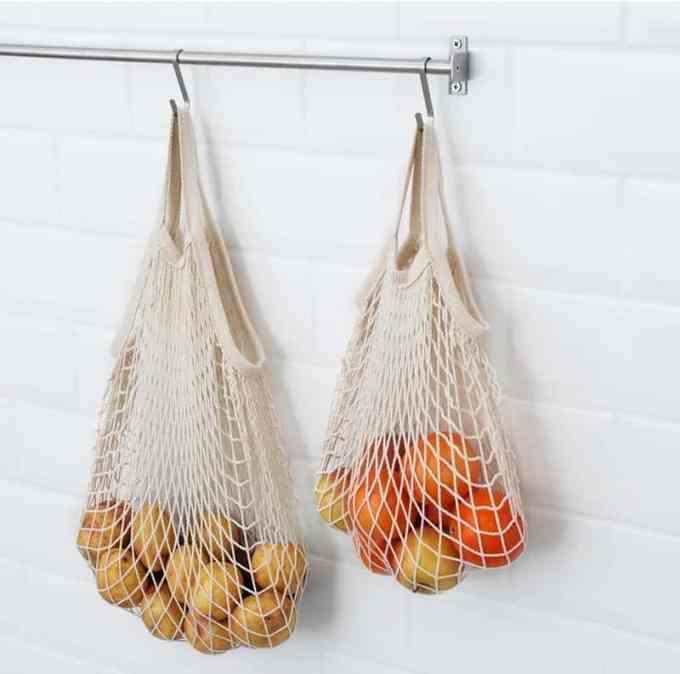 Οργάνωση Κουζίνας. Διχτυωτή τσάντα ΙΚΕΑ.