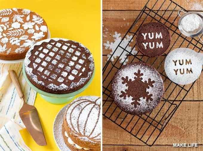 CHRISTMAS CAKE DECORATION 1 - Σχέδια και ιδέες για τη διακόσμηση της βασιλόπιτας