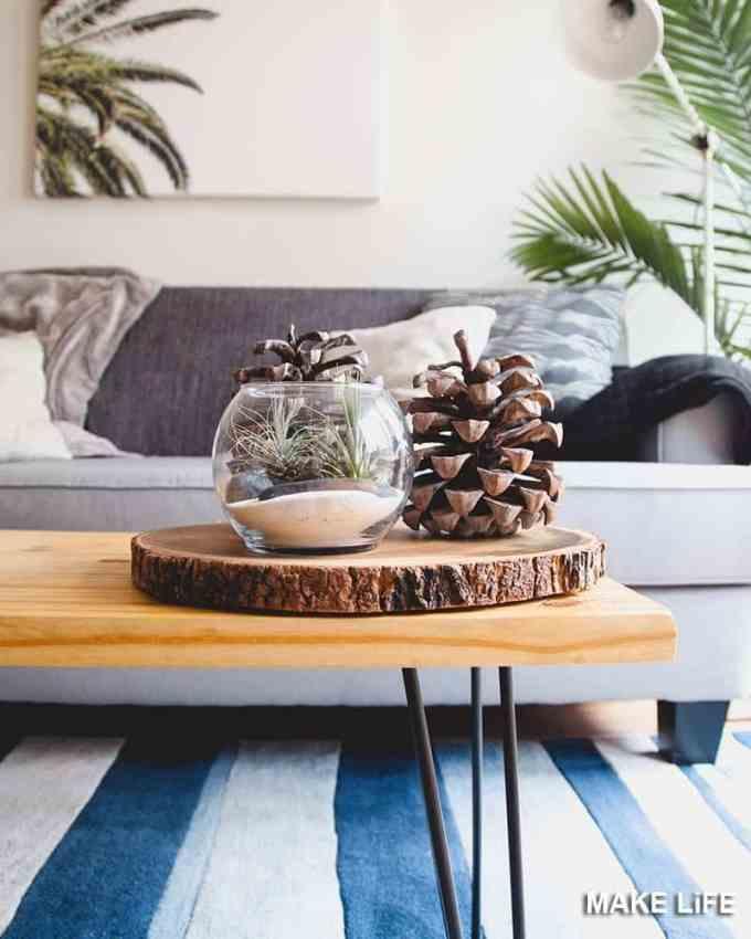 COFFEE TABLE DECORATION 5 - Πως να διακοσμήσεις το τραπεζάκι σαλονιού με 4 απλές κινήσεις