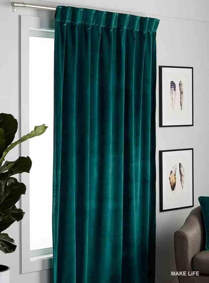 VELVET Curtains - Έτσι θα εντάξεις το βελούδο στη διακόσμηση του σπιτιού σου