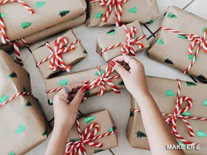 GIFT WRAP IDEAS 7 - Πως να τυλίξεις ένα δώρο. 6 τρόποι για το χριστουγεννιάτικο αμπαλάζ