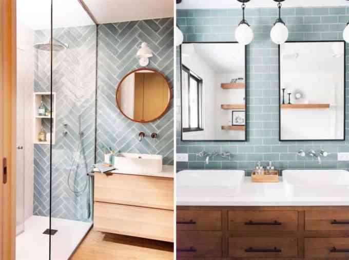 blue bathroom 2 - Τα κυρίαρχα χρώματα για το μπάνιο. 5 ιδέες που θα λατρέψεις