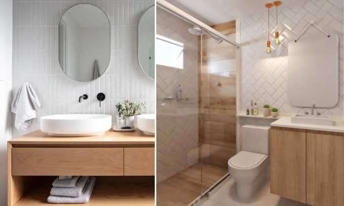 white bathroom - Τα κυρίαρχα χρώματα για το μπάνιο. 5 ιδέες που θα λατρέψεις