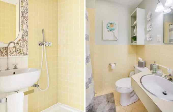 yellow bathroom 2 - Τα κυρίαρχα χρώματα για το μπάνιο. 5 ιδέες που θα λατρέψεις