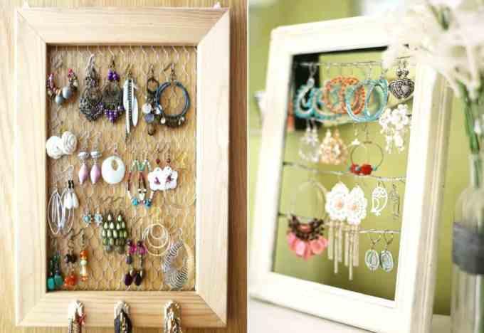 jewellery 2 - Πως να οργανώσεις τα κοσμήματά σου. Όμορφες ιδέες και λύσεις