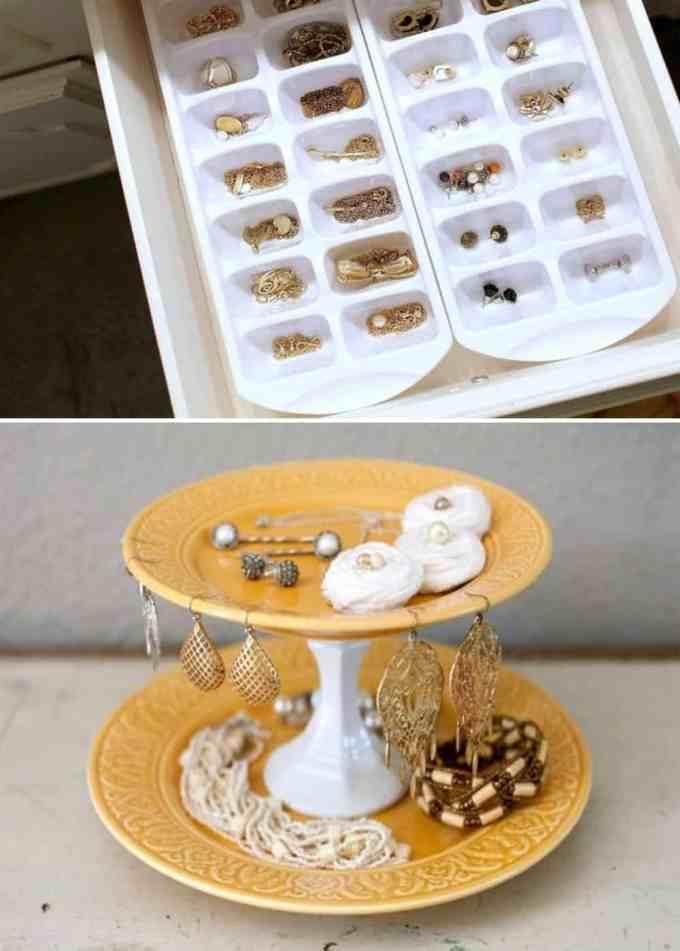 jewellery 3 - Πως να οργανώσεις τα κοσμήματά σου. Όμορφες ιδέες και λύσεις