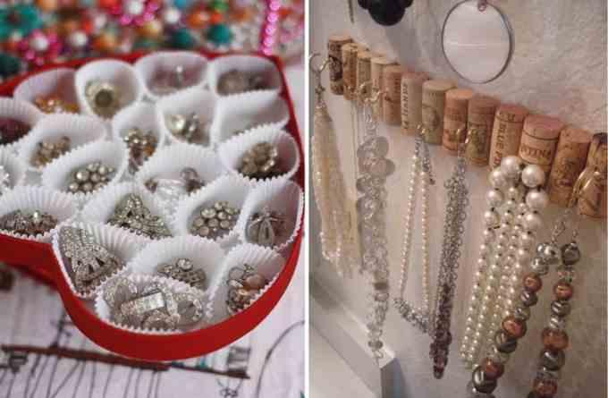 jewellery 4 - Πως να οργανώσεις τα κοσμήματά σου. Όμορφες ιδέες και λύσεις