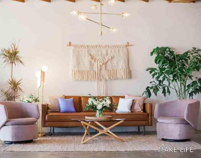 macrame wall decoration - Διακόσμηση τοίχου πίσω από τον καναπέ. Όλες οι νέες τάσεις