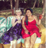 Madam Curator and MLNPstar FeverDream catching some rays