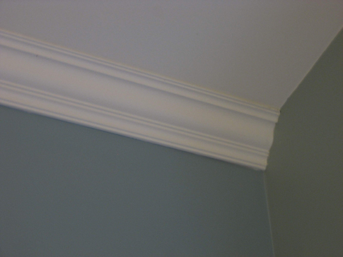 How To Attach Crown Molding To Ceiling