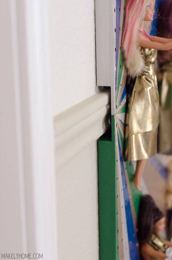 how to put chair rail molding big man folding diy barbie doll jewelry holder