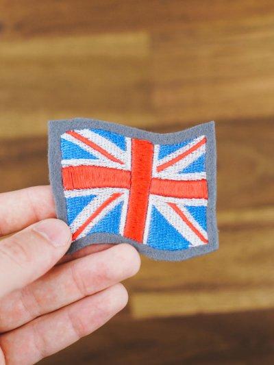 Stickdatei ENGLAND Flagge