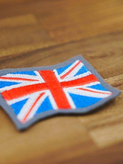 Stickdatei Großbritannien Flagge