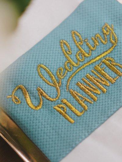Stickdatei Hochzeitsplaner »Wedding planner«