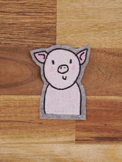 Schwein als Stickdatei herunterladen